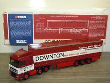 Daf 95 XF Space Cab C.M. Downton LTD - Corgi CC13211 - 1:50 in Box *44034