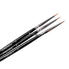 3pcs Dental Porcelain Brush Pen 0# Dental Lab Equipment.