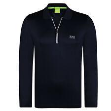 HUGO BOSS Polo Manica Lunga Colore Nero - Modern Fit (XL)