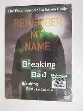 Breaking Bad: The Final Season (DVD, 2013, Canadian Bilingual)  BRAND NEW   SEAL