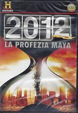 Dvd video **2012 LA PROFEZIA MAYA** Nuovo Sigillato