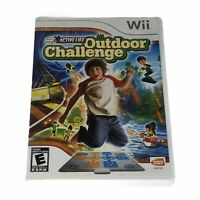 Active Life: Outdoor Challenge (Nintendo Wii, 2008) Complete w/Manual CIB