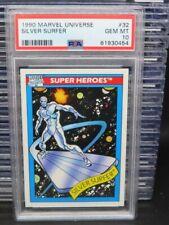 1990 Marvels Universe Silver Surfer Super Heroes #32 PSA 10 GEM MINT Q162