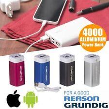 Power Bank Caricabatteria Grundig 4000 mAh Smartphone Apple Android Batteria