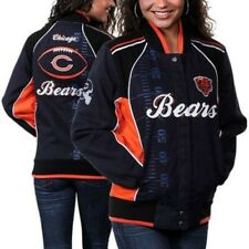 Chicago Bears Women's Franchise  Cotton Twill Jacket - Blue
