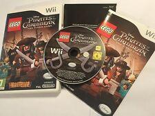 NINTENDO Wii LEGO jeu Pirates des Caraïbes le jeu vidéo complet PAL