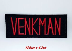 Ghostbusters - Team MemberVENKMAN Iron Sew on Embroidered Patch #345