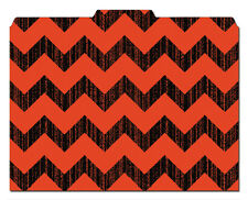 File-'N Style Folders - Chevron Print - Cool School Studios - (Set of 12)