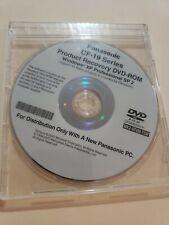 Windows XP Tablet Edition PANASONIC TOUGHBOOK CF-19 MK2-XP2M-TSW RECOVERY DVD