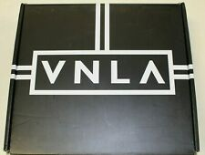 Vanilla VNLA Jr. Stealth Black Denim & Leather Quad Roller Jam Skates