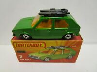 1978 MATCHBOX SUPERFAST NO.7 VW GOLF ***NEW IN BOX***
