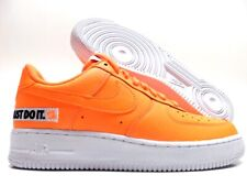 cheaper 55971 075d3 Nike Air Force One 1  07 Low JDI LTHR Total Orange White Black Bq5360 800