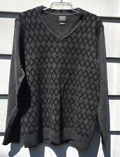 ARMANI EXCHANGE 100% Cotton V-Neck Sweater Men's Large GUC
