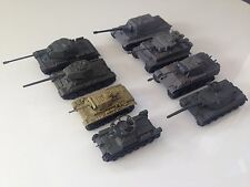 Tank model 1/144 World War II tank X8 4D Model Kit Spray finish