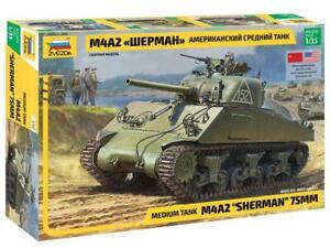 M4 A2 Sherman Kit ZVEZDA 1:35 ZS3702