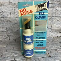 Vintage Tile Care Products No Mess Tile Guard Recoats White Grout