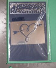 Arrow Heart - Metal Embossing Stencil (Dreamweaver Stencils) Valentine'S Day