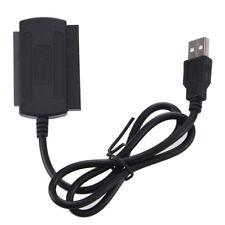 3 in 1 USB 2.0 to IDE SATA 2.5/3.5'' Hard Drive HD HDD Adapter Converter Ca I0J1
