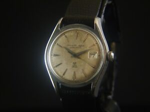 Girard Perregaux Gyromatic Automatic Date 39 Jewels Swiss Vintage Mens
