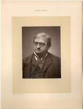 Gallot Charles, France, Louis Ulbach, journaliste, romancier et dramaturge (1822