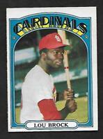 1972 Topps O-Pee-Chee OPC #200 Lou Brock Cardinals RARE TOUGH NM