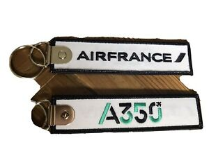 PORTE CLE AIR FRANCE A350 NEUF