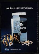 3w623/ Alte Reklame - von 1983 - KÖLLN FLOCKEN