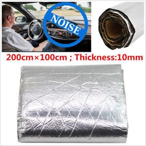 10mm Car Firewall Sound Deadener Heat Shield Insulation Noise Deadening Material