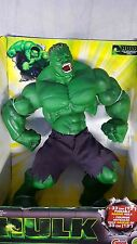 2003 GRAND TOY BIZ MARVEL 13 INCH RAGING HULK POSEABLE FIGURINE #70526