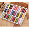 39pcs/set 200 Yard home Mixed Colors Hand Machine Polyester Spool Sewing Thread