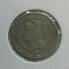 1869 Nickel 3 Cent Piece