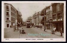 1923 Belvoir Street Leicester Leicestershire Postcard D57