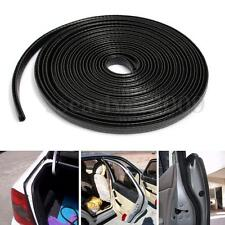 4M U-shape Black Car Door Edge Trim Rubber Seal Protector Guard Strip Protector