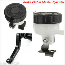 Universal 7/8'' Motorcycle Front Brake Clutch Master Cylinder Reservoir Levers