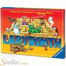 Ravensburger Labyrinth Maze Board Game Treasure Race Kids Family Fun Adult Party