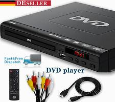 DVD Player mit AV und USB Anschluss Mit Fernbedienung für TV Player USB 3.0 2.0
