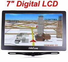 """7"""" GPS Navigation Wireless Backup Camera Bluetooth FM NEW USA Free shipping"""