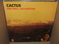 Cactus One Way... Or Another Vintage Vinyl LP 1st Press Yellow Atco VG+/VG+