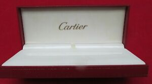 Cartier Red And Gold Pen Box ONLY