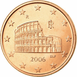 [#772363] Italie, 5 Euro Cent, 2006, SUP, Copper Plated Steel, KM:212