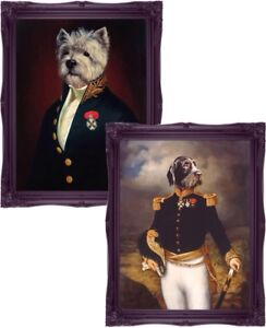 Dog Art Poster Print Wall Art Terrier Dog Dog Prints Dog Jacket Thierry Poncelet