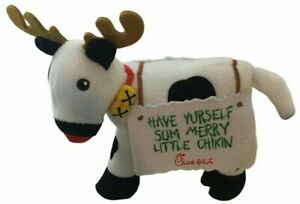 CHICK-FIL-A Have Yurself Sum Merry Little CHIKIN REINDEER COW RUDOLPH RED NOSE