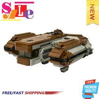 MOC-16083 SW: Knights of the Old Republic Ebon Hawk Building Blocks Bricks Toys