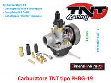 1020 - Carburatore TNT Tipo PHBG-19 + 6 Getti + Starter per PIAGGIO Liberty 50