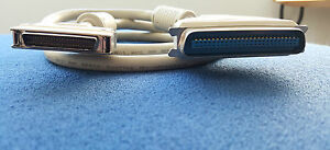 SCSI-2 to SCSI-1 Cable 1.1m Beige MD50M to DB25M