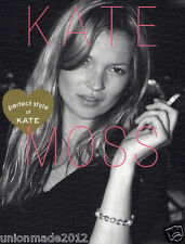 Photo Book KATE MOSS All About KATE Perfect Style book 600 Photos NEW Free Ship