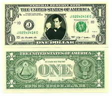 JAMES BOND TIMOTHY DALTON VRAI BILLET DOLLAR US! Collection 007 Acteur Hollywood