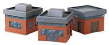 PECO LK-81 Modern Office Buildings Pre-Coloured Plastic Kit 00 Gauge Tracked 48P
