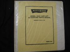 Pettibone 104-D Cary-Lift Fork Lift Parts Manual