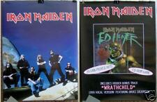 "IRON MAIDEN ""ED HUNTER"" 18""x24"" RARE PROMO POSTER ©1999"
